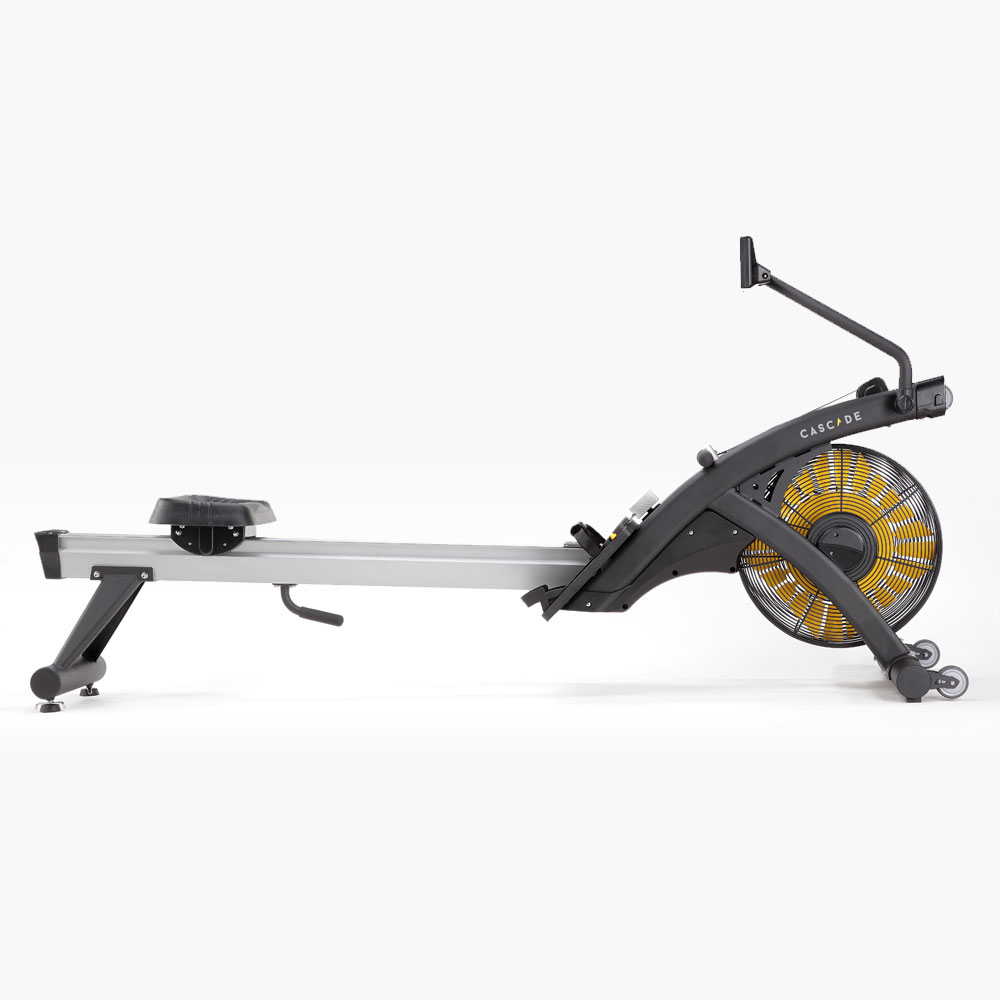 Side view Cascade Air Rower mag | Indoor rowing machine